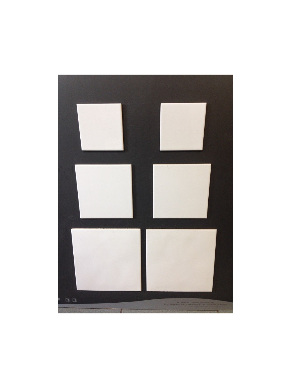 carreaux faience blanc 108x108 bte de 1 m mara mat riaux. Black Bedroom Furniture Sets. Home Design Ideas