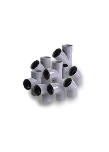 COUDE PVC MALE FEMELLE 87ø30 CT8 ,EPE,