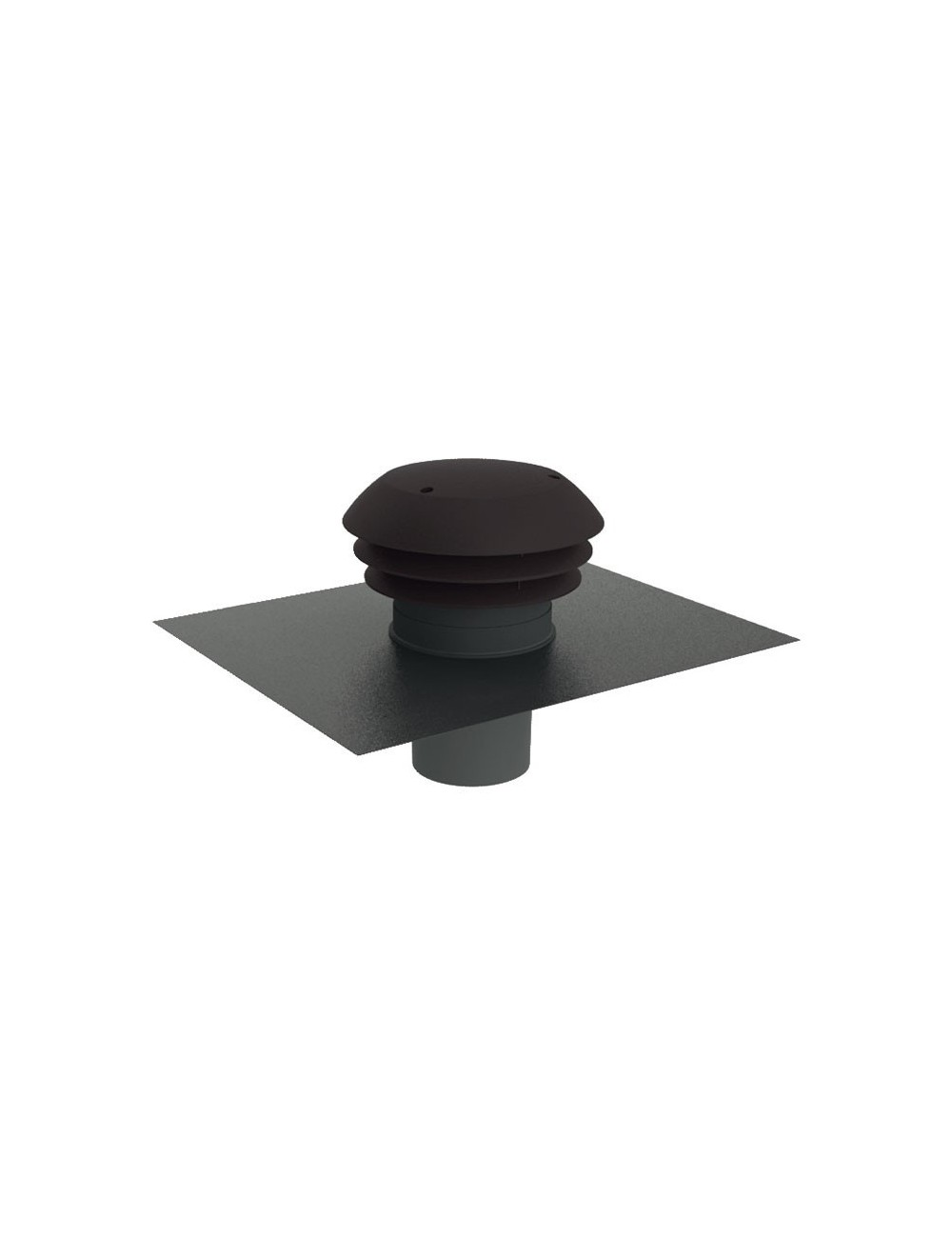 chapeau de toiture 150 mm pvc pour rejet et. Black Bedroom Furniture Sets. Home Design Ideas