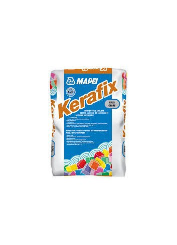 K E R A F I X BLANC C2 sac 25 KG Colle carrelage souple int/ext