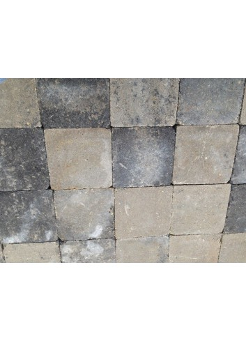 PAVE CAMBELSTONE NEW 15X15X6 GRIS-ANTHRACITE 10.80M2/P