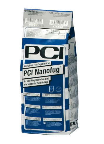 "Joint PCI NANOFUG ""N°31 GRIS CIMENT"" 4kg Int/Ext.sol chauffant. joint de 1 à 10mm"