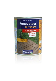 Rénovateur terrasses composites 2.5L pour composite terni-pas pour le neuf