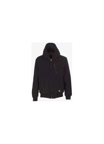 Veste JACKET PADDED CANVAS L REF 80017 NOIRE