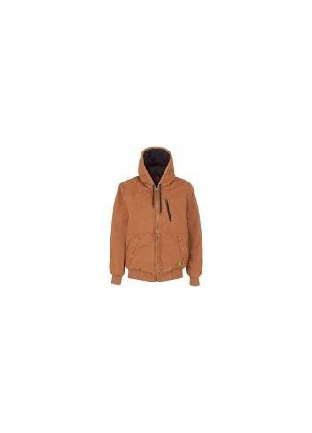 Veste JACKET PADDED CANVAS L REF 30141 TABAC