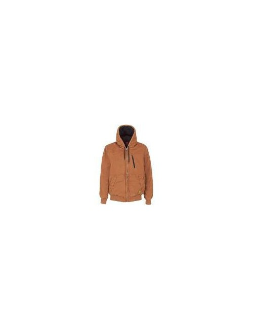 Veste JACKET PADDED CANVAS M REF 30141 TABAC