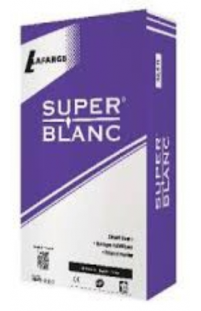 CIMENT SUPERBLANC 32.R LAFARGE 25KG CEM II/B LL CP2