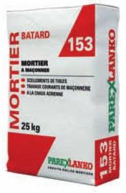 MORTIER BATARD ref : 153 sac 25 kg