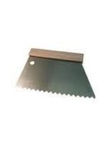 Peigne a colle 20cm isocèle 2,5mm  440501